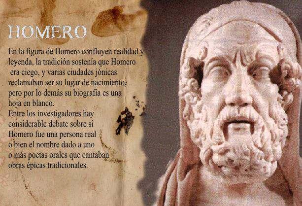Biografía de Homero - 13