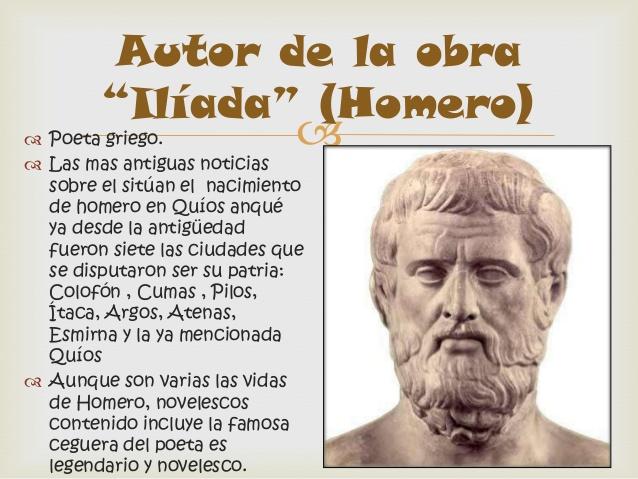 Biografía de Homero - 12